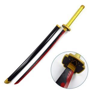 鬼滅の刃 継国 縁壱(つぎくに よりいち)) 日輪刀 ベルト付けセット コスプレ道具 木製刀  コスチューム