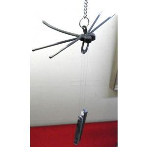 手作りサヌカイト風鈴 トンボ小(吊りタイプ)|senyotei