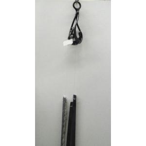手作りサヌカイト風鈴 渦その1(吊りタイプ大) senyotei