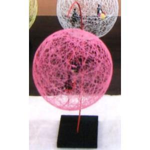 絹てまり スタンドタイプ ピンク senyotei