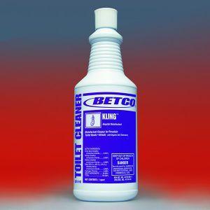 クリング946ml(BETCO)便器についた頑固な尿石を除去