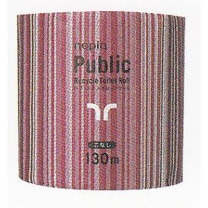 (事業者限定)業務用トイレットペーパー ネピア パブリック 1ロール130m芯なし60個入個包装 《王子ネピア正規代理店》エコマーク認定商品|senzaiwaxsuper