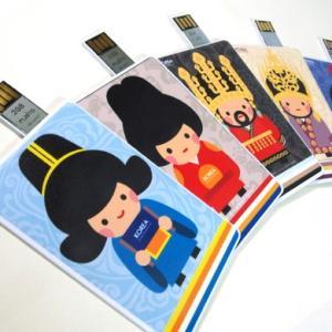 [韓国雑貨] 伝統キャラクター USBカード [輸入雑貨] [かわいい]|seoul4