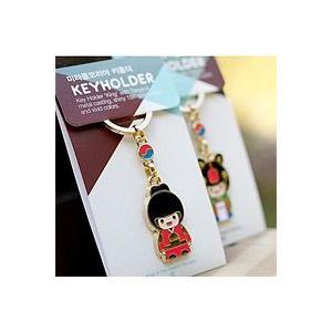 [韓国雑貨] 伝統キャラクター キラキラ豪華な18金のストラップ [18kメッキ] [輸入雑貨] [かわいい]|seoul4