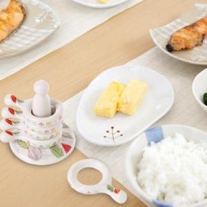 [韓国雑貨]韓国の食卓ならでは お箸とスプーンを仲良く置ける -リング型 箸置き-[5P+支え棒 / リーフ柄][韓国食器][可愛い][かわいい]13K215020619498|seoul4|03