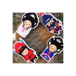[韓国雑貨] 伝統キャラクター 新羅ミニマグネットセット [輸入雑貨] [かわいい] BBS897696|seoul4