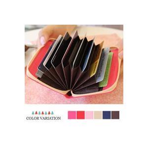 [韓国雑貨] =全6色= アコーディオン型カードケース Shinzi Katoh accordion Card Wallet ver.2 [韓国 雑貨] [文房具] [文具] [かわいい]|seoul4