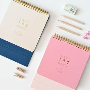 [韓国雑貨]目標に向かってカウントダウンする私だけのカレンダー Last 100 day Planner[韓国文房具][可愛い][かわいい]TBT101102103106 seoul4 02