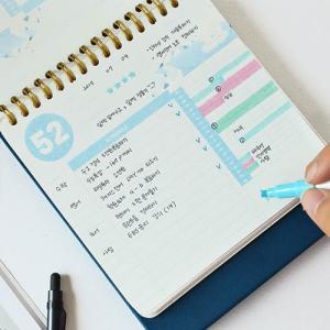 [韓国雑貨]目標に向かってカウントダウンする私だけのカレンダー Last 100 day Planner[韓国文房具][可愛い][かわいい]TBT101102103106 seoul4 03