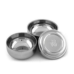 [韓国雑貨]ステンレス二重構造で安心 伝統的な韓国食器[蓋付お茶碗&お椀セット][韓国食器][可愛い][かわいい][韓国 お土産]g164181210|seoul4