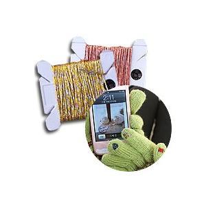 [韓国雑貨] お気に入りのグローブに縫い付けるだけでスマホ手袋に   タッチパネル用縫い糸 [選べる2色セット] [輸入雑貨] [かわいい] 13K215020463444|seoul4
