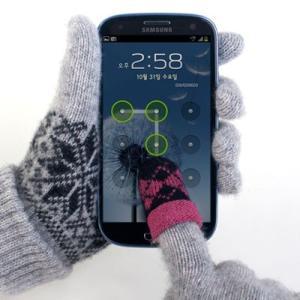 [韓国雑貨]ストラップとして携帯できちゃう スマホ指だけ手袋[選べる2色セット][韓国 お土産][可愛い][かわいい]13K215021330075|seoul4