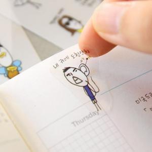 [韓国雑貨]落書きのような可愛さ todacデコステッカー ver.5[シール][韓国文房具][可愛い][かわいい][韓国 お土産]TBT764077 seoul4 02