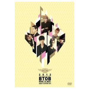 B TO B (BTOB) / (DVD・2Disc) [BORN TO BEAT] DEBUT & HISTORY [B TO B (BTOB)] 580302
