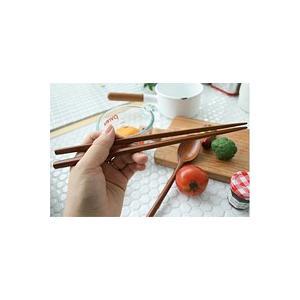 [韓国雑貨]これがないと始まらない スッカラ&チョッカラ 優しい木目のお箸&スプーン[2膳セット][韓国食器][可愛い][かわいい][韓国 お土産] seoul4 02
