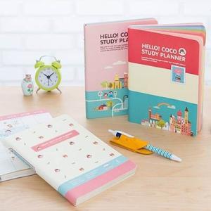 [韓国雑貨]Hello coco study planner ver.3[スタディープランナー][お土産][可愛い][かわいい][文房具][文具][スケジュール帳]13K215021908929|seoul4