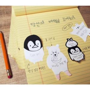 [韓国雑貨] come play with me memo it [2セット] [付箋] [輸入雑貨] [文房具] [文具] [かわいい] 13K215021455223|seoul4