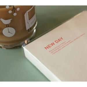 [韓国雑貨][MMMG]新しい1日をはじめよう MONTHLY&WEEKLYプランナー NEW DAY-01 PINK[スケジュール帳][手帳][韓国文房具][可愛い]TBT133685|seoul4