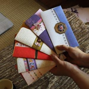 [韓国雑貨]SOMSSI韓国伝統柄お祝い袋[6枚セット][韓国 お土産][可愛い][かわいい][文房具][文具]TBT868809|seoul4