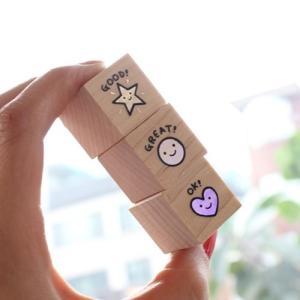 [韓国雑貨]SSOMSI おほめスタンプセット [韓国 お土産][可愛い][かわいい][文房具][文具]TBT217807|seoul4