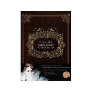 DVD (3disc) / XIA 2012 BALLAD & MUSICAL CONCERT WITH ORCHESTRA[100P PHOTO BOOK](キム・ジュンス) 445814|seoul4