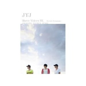 JYJ (ジェジュン、ユチョン、ジュンス) / (DVD・2disc)JYJ 3HREE VOICES III [SECRET SESSIONS] [JYJ] 081372