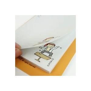 [韓国雑貨] =SSBA= 可愛いアジャシのポストイット (選べる3つセット) [輸入雑貨] [文房具] [文具] [かわいい]|seoul4
