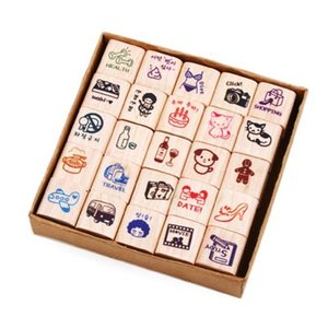 [韓国雑貨]MAKE U HAPPYスタンプ [韓国 お土産][可愛い][かわいい][文房具][文具]TBT143907|seoul4