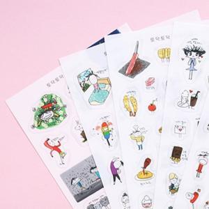 [韓国雑貨]落書きのような可愛さ todacデコステッカー ver.7[シール][韓国文房具][可愛い][かわいい][韓国 お土産]TBT1171853|seoul4