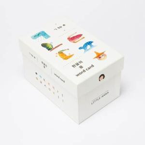 [韓国雑貨] 美しい水彩画とハングル≪ハングル夢カード≫ [26枚セット] [かわいい]|seoul4