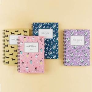 [韓国雑貨] 表紙パターンがカワイイ study planner [スタディープランナー][スケジュール帳][手帳][かわいい] seoul4