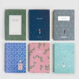 [韓国雑貨] 多彩なページ構成とシックなカラー sutudy planner [スタディープランナー][スケジュール帳][手帳][かわいい]|seoul4