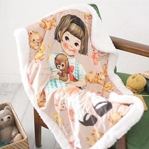 [韓国雑貨]=paper doll mate= ブランケット《選べる3TYPE》[韓国 お土産][可愛い][かわいい][文房具][文具]|seoul4