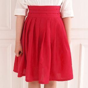 [韓国雑貨] 伝統衣装を今に蘇らせた  韓国の香りがするスカート≪濃い桃色≫ [ファッション] [輸入雑貨] [かわいい]|seoul4