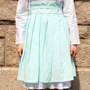 [韓国雑貨] 伝統衣装を今に蘇らせた  韓国の香りがするスカート≪氷河色≫ [ファッション] [輸入雑貨] [かわいい]|seoul4