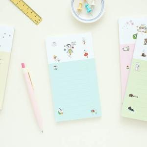 [韓国雑貨]落書きのような可愛さ todacチェックリスト (選べる3つセット) [輸入雑貨] [文房具] [文具] [かわいい]|seoul4