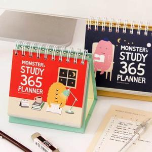 [韓国雑貨] 目標達成までモンスターがピッチリ管理してくれる  ? MONSTER's STUDY 365 PLANNER  [スタディープランナー] [かわいい] [文房具] [文具]|seoul4