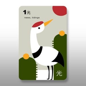 [韓国雑貨]飾りたくなるような美しさ 伝統的な花札を現代アート風に復刻デザイン ver.03《Style》|seoul4|02