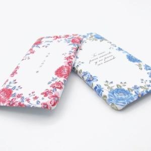 [韓国雑貨]ハングル英文字が入れられる 陶器のような美しいアイフォンケース =秘密の花園=《iPhone/Galaxy》[名入れ][名前][文房具]|seoul4