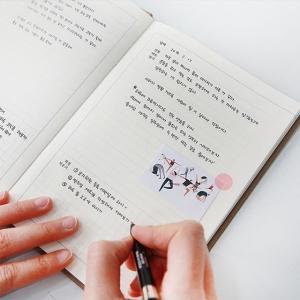 [韓国雑貨]ゲーム感覚で楽しく進む ハングルのお勉強  自問自答心配ノート [かわいい][スケジュール帳][お土産]|seoul4|05
