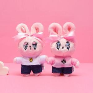 [韓国雑貨]=ESTHER LOVES YOU= ハイパーガーリーなキーリング[エスターバニー][可愛い][かわいい][韓国 お土産]|seoul4