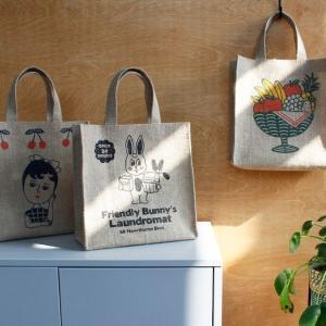 [韓国雑貨]=1537= 自然派レトロな JUTE BAG[バッグ][小物入れ][可愛い][かわいい][韓国 お土産]|seoul4