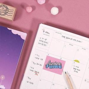 [韓国雑貨]幻想的なハングル表紙 月のかけらDiary《万年ダイアリー》[ダイアリー][韓国文房具][可愛い][かわいい]|seoul4|04