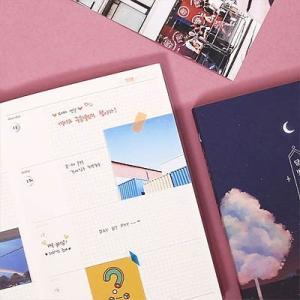 [韓国雑貨]幻想的なハングル表紙 月のかけらDiary《万年ダイアリー》[ダイアリー][韓国文房具][可愛い][かわいい]|seoul4|05