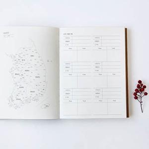 [韓国雑貨]シンプルでナチュラリストなダイアリー《2019年韓国暦》[ダイアリー][手帳][韓国文房具][可愛い][かわいい] seoul4 02