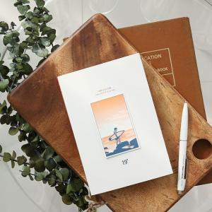[韓国雑貨]多様なハングルとイラスト シンプルな表紙 =私の19ダイアリー=《2019年韓国暦》[ダイアリー][文房具][文具]|seoul4