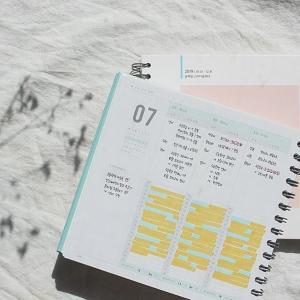 [韓国雑貨]2019年版 スクエアのハード表紙 今日のお勉強プランナー(1年用)[スタディプランナー][スケジュール帳][韓国文房具][可愛い]|seoul4|03
