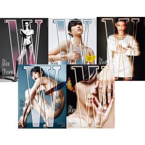 W(ダブリュー) (韓国雑誌) / 2019年6月号 (表紙2種から1種ランダム発送)[韓国語][ファッション](予約販売 5/22以降発送予定)|seoul4