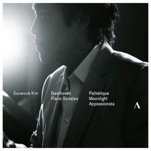 キム・ソンウク / BEETHOVEN: PIANO SONATAS - PATHETIQUE, MOONLIGHT, APPASSIONATA [クラシック][韓国 CD]|seoul4