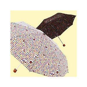 [韓国雑貨]小さなハングル模様がステキ 晴雨兼用の折り畳み傘[韓国 雑貨][アジアン雑貨]|seoul4